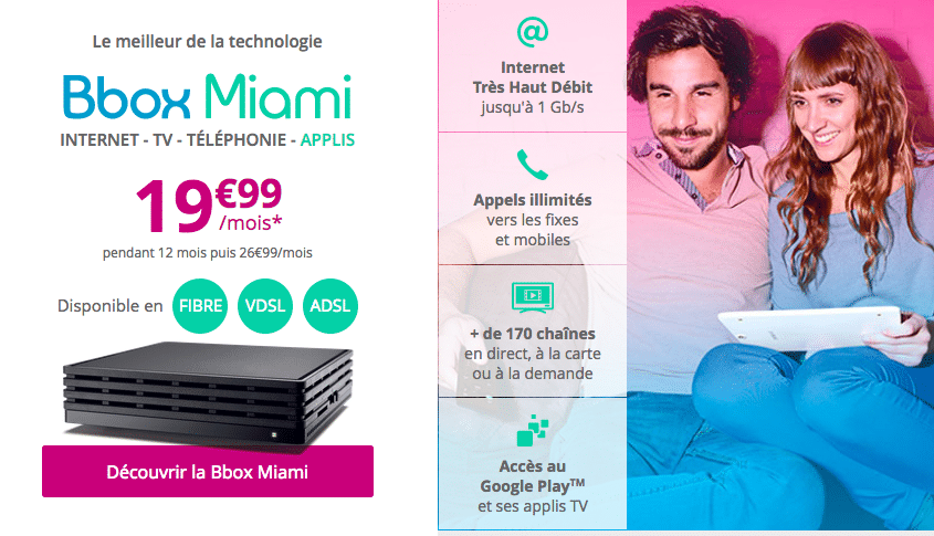 bouygues telecom associez la bbox miami avec le forfait mobile b you 50 go 9 99. Black Bedroom Furniture Sets. Home Design Ideas