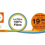 Orange : les offres internet avec la Fibre à partir de 19,99€/mois pendant 1 an