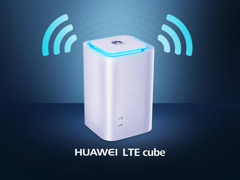 Huawei construit la 4G Box de Bouygues