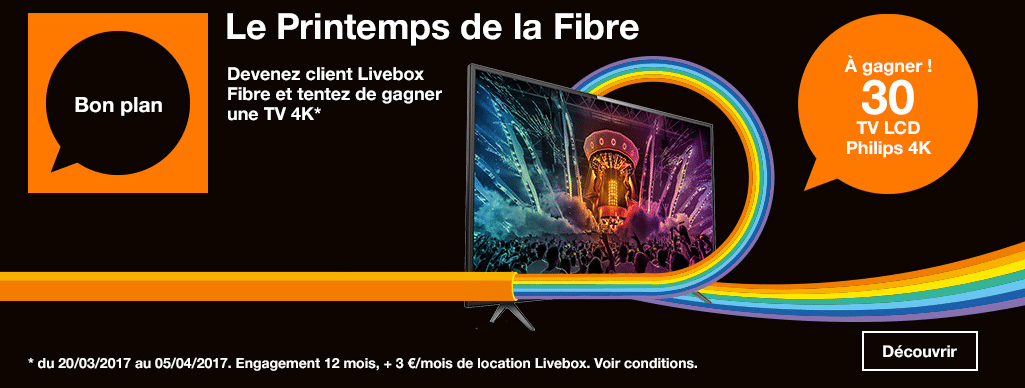 internet orange 30 tv 4k en jeu en devant client fibre pour 19 99 mois. Black Bedroom Furniture Sets. Home Design Ideas