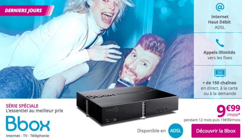 Bbox 9,99€/mois