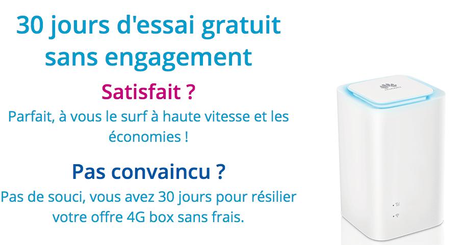 offre box 4G