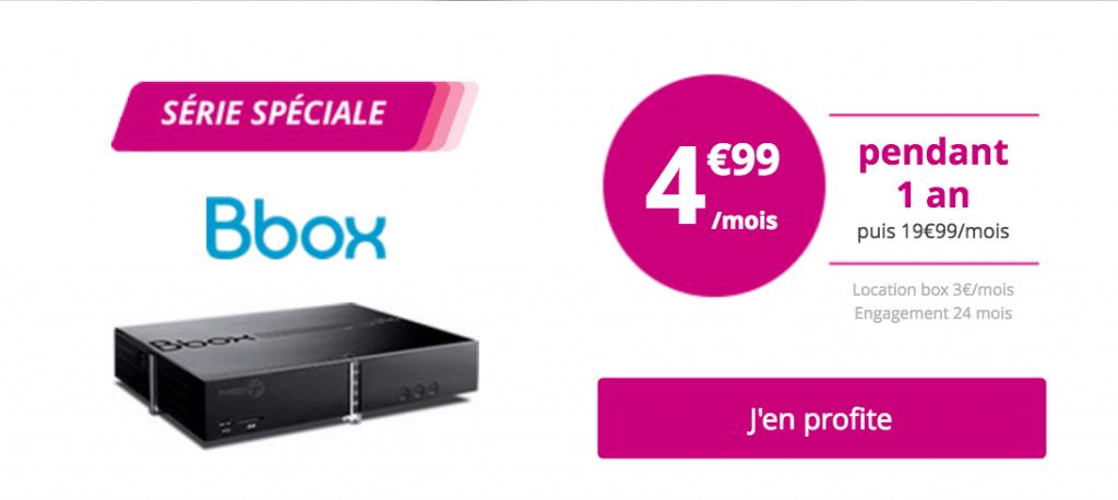 Bouygues Bbox 5 euros