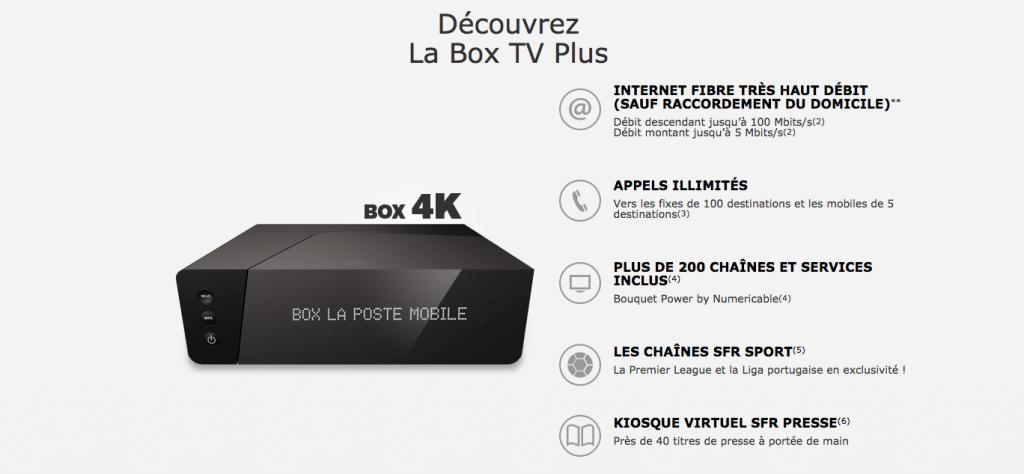 la poste mobile plus que 10 jours pour la box internet tv plus 14 99. Black Bedroom Furniture Sets. Home Design Ideas