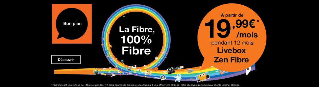 orange les offres internet fibre d s 20 avec 19 euros. Black Bedroom Furniture Sets. Home Design Ideas