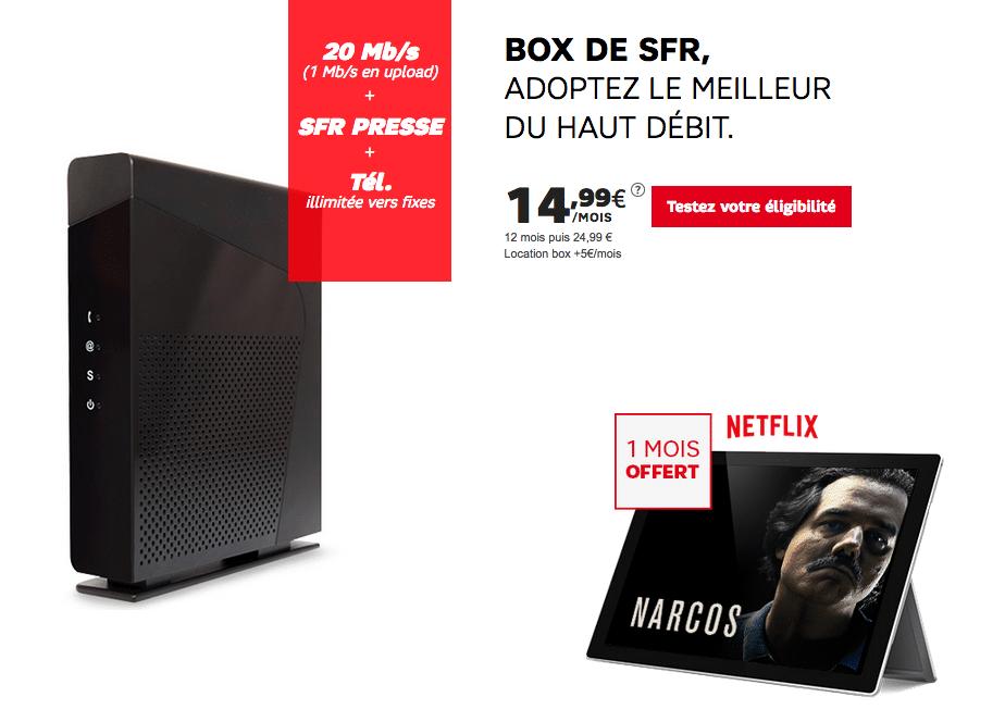 sfr box adsl starter