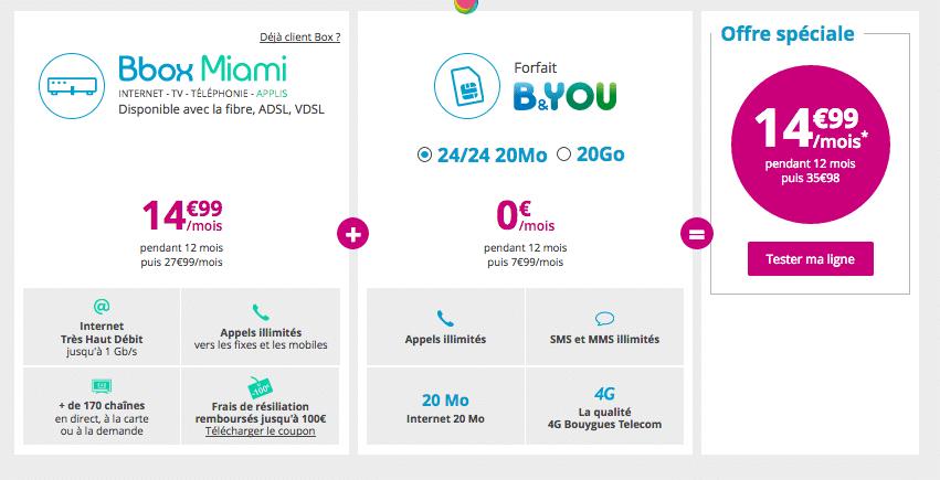 Bouygues offre box et mobile