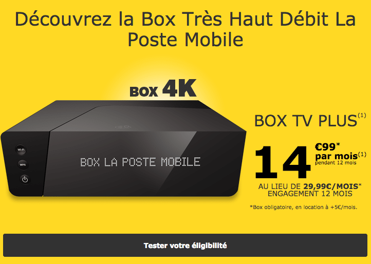 la poste mobile internet avec la fibre est encore. Black Bedroom Furniture Sets. Home Design Ideas