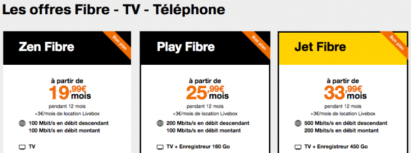 orange les abonnements internet fibre prix r duit jusqu 39 ce soir. Black Bedroom Furniture Sets. Home Design Ideas