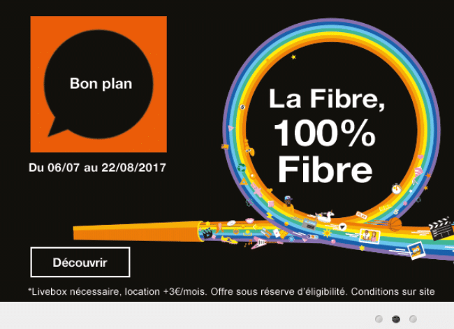 orange propose la fibre optique au prix de l 39 adsl en promotion. Black Bedroom Furniture Sets. Home Design Ideas