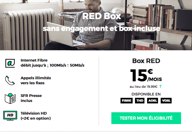 red sfr box fibre