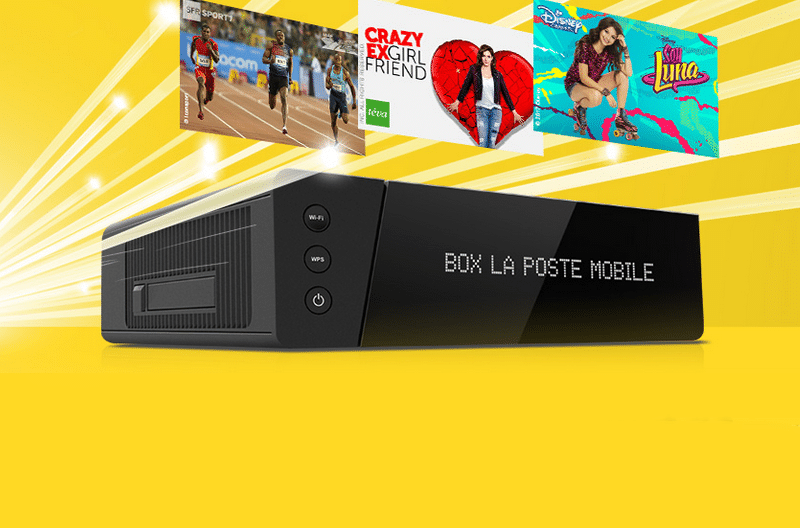 la poste mobile la box internet tv plus moins de 15 jusqu 39 au 29 ao t. Black Bedroom Furniture Sets. Home Design Ideas
