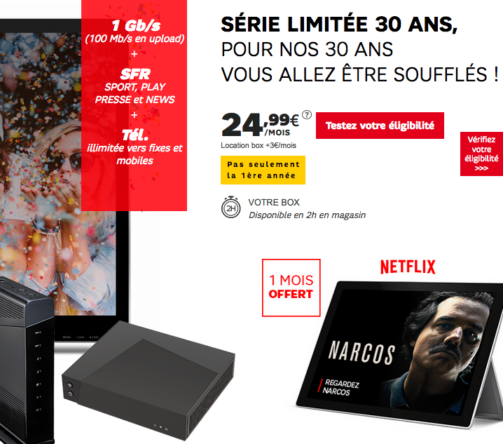 box internet la fibre petit prix avant la rentr e chez red sfr orange et bouygues t l com. Black Bedroom Furniture Sets. Home Design Ideas