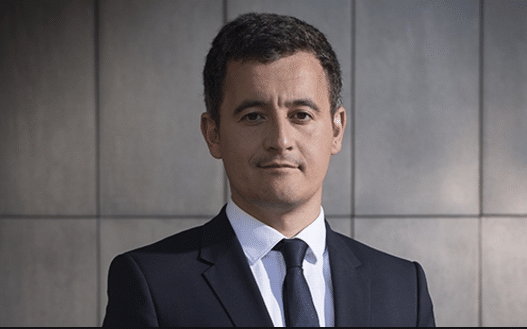 Gérald Darmanin est le ministre de l'Action et des Comptes publics