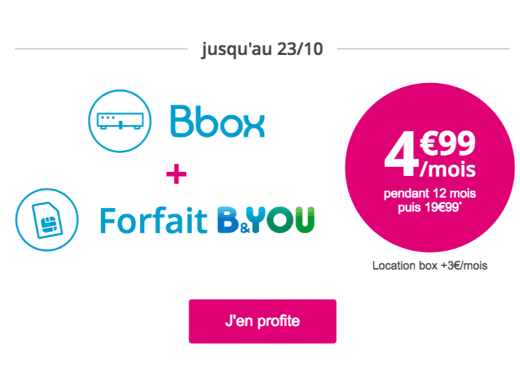 bouygues t l com une box internet moins de 5 avec la bbox adsl. Black Bedroom Furniture Sets. Home Design Ideas