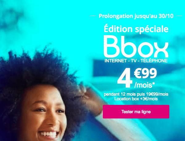 Bouygues telecom bbox adsl