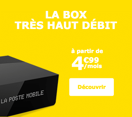 La Poste Mobile box internet