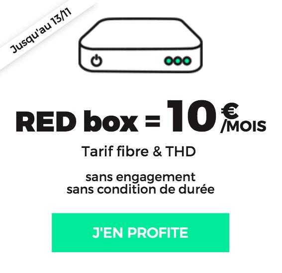 red box internet avec la fibre optique pour 10 euros par mois vie. Black Bedroom Furniture Sets. Home Design Ideas