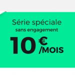 La Fibre et l'ADSL de RED by SFR à seulement 10€ par mois à vie