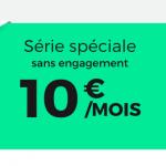 10€ à viepour la RED Box de RED by SFR avec la Fibre ou l'ADSL
