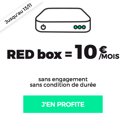RED by SFR box