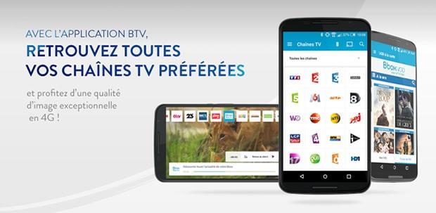 Les opérateurs proposent des applications pour regarder la télévision directement sur son smartphone.