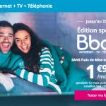 Série spéciale: Bouygues Télécom fête Noël avant l'heure avec sa Bbox ADSL à seulement 1,99€