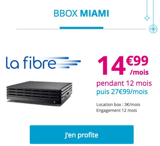 Fibre Bouygues Télécom bbox Miami