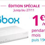 La Bbox ADSL de Bouygues Télécom est à moins de 2€ jusqu'au 27 novembre