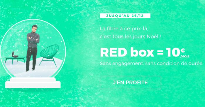 Box internet red sfr fibre optique