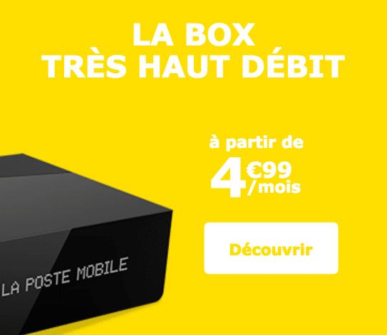 box internet Fibre La Poste