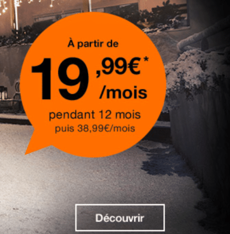 orange fibre optique promo