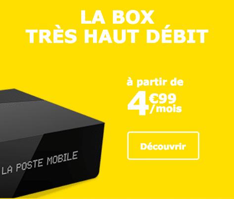 Box internet Fibre promo