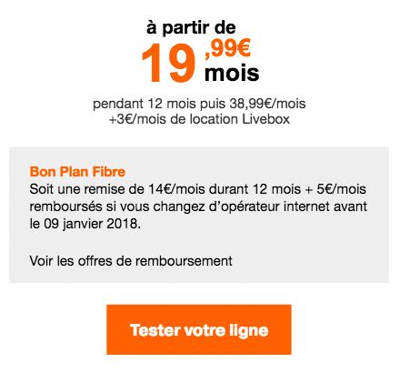 Orange Livebox Zen Fibre