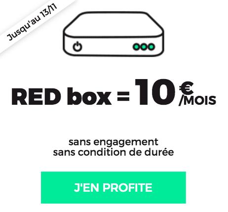 box internet Fibre RED