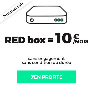 RED Box Fibre ADSL 10€