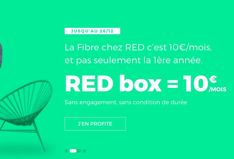 Devenez red dingue avec la box internet de red by sfr 10 par mois - Avoir internet sans box ...