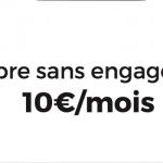 La Fibre ou l'ADSL de RED by SFR à 10€ à vie jusqu'au 13 novembre