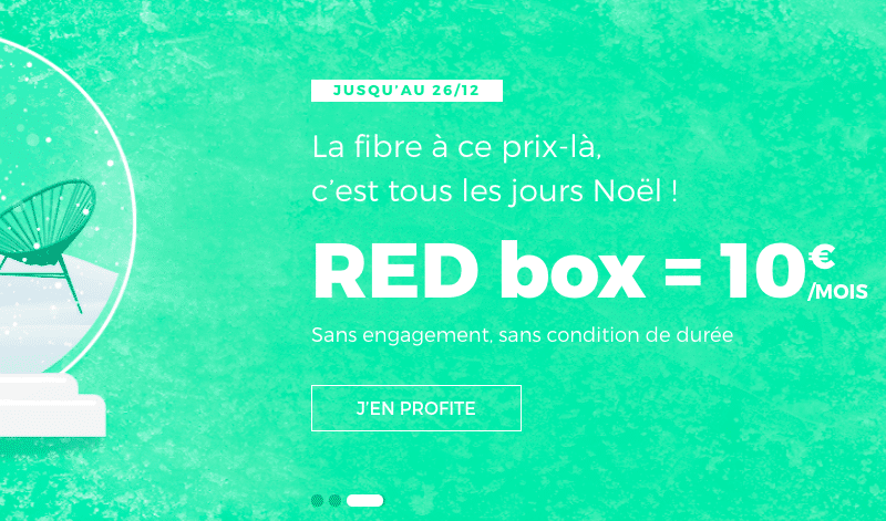 la fibre optique prix mini gr ce la box internet de red by sfr. Black Bedroom Furniture Sets. Home Design Ideas