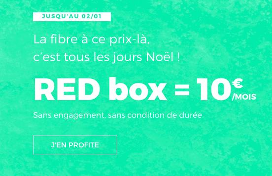 promo à vie RED Box