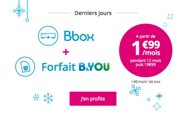 box internet forfait mobile