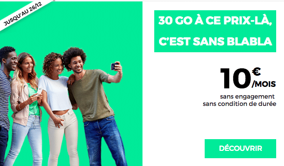 red by sfr forfait mobile