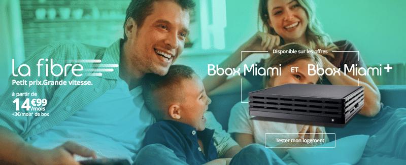 bouygues t l com la bbox miami fibre seulement 14 99. Black Bedroom Furniture Sets. Home Design Ideas