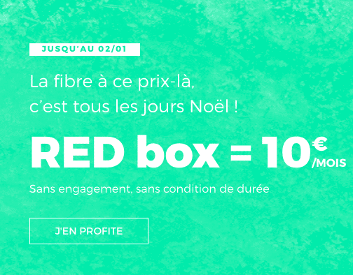RED by SFR Box internet