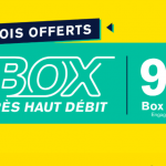Votre abonnement box internet offert pendant 2 mois et à prix réduit pendant 4 autre mois avec La Poste Mobile
