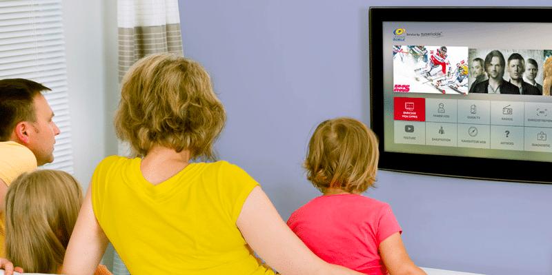 200 cha nes de tv et 200 mb s pour 4 99 par mois avec la poste mobile. Black Bedroom Furniture Sets. Home Design Ideas