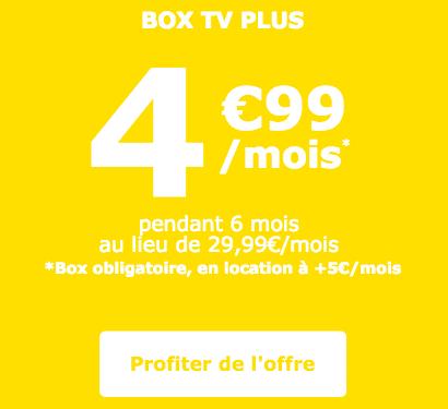 box TV Plus la poste