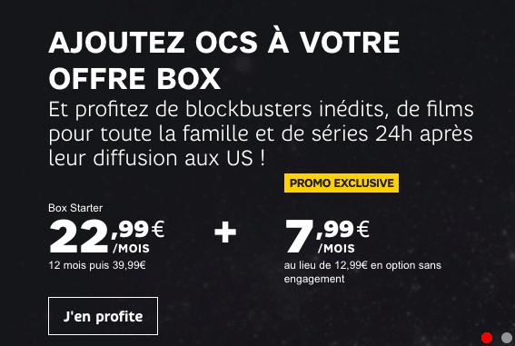 Box internet OCS