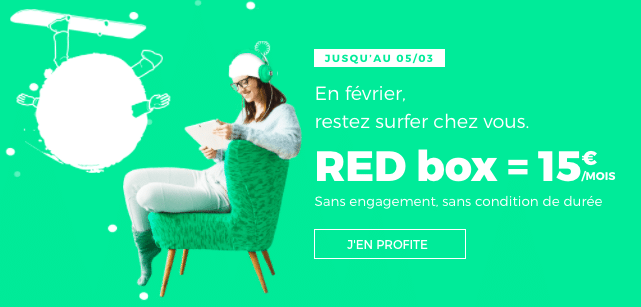 La box internet de RED by SFR