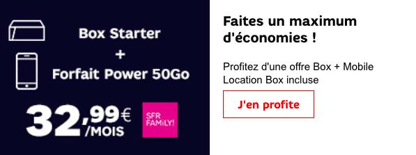 Box internet et forfait SFR